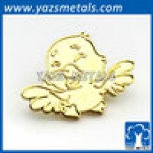 Gold Tier Stil Vogel Revers Pin