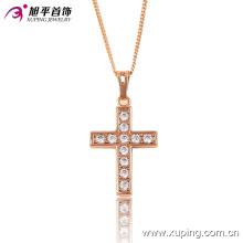 Moda Xuping Niza Cross Crystal colgante de joyería de oro para los regalos o la fiesta -32468