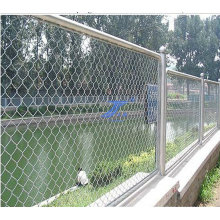 Гальванизированное звено цепи временный забор (ТС-J223)
