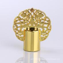 Trade Assurance Supplier Zinc Luxury Crown Perfume Cap