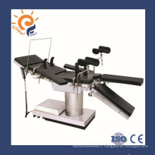 Le moins cher! Table d'opération manuelle électrique table d'opération orthopédique table d'opération chirurgicale