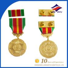 Промотирования изготовленная на заказ плакировка золота медаль бар для сувенира