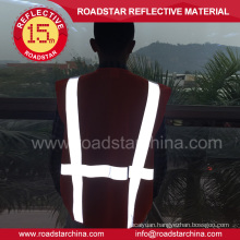 EN471 high visibility warning reflective safety vest