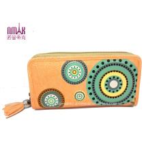 Fashion Clutches PU Wallet Lady Handbags (NMDK-W011)