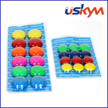 Office Round Button Shaped Whiteboard Magnet