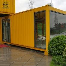 Сборный контейнерный дом на заказ в плоской упаковке, штабелируемый контейнерный дом