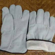 Protective Worker Professional Industrial Leather Safety Labor Gloves