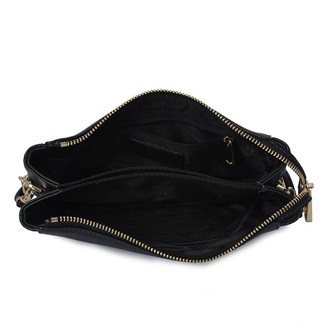 crossbody shoulder bag cowhide leather