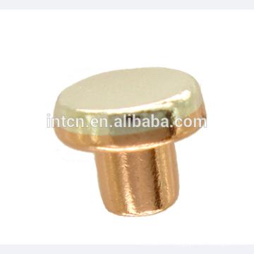 Contacts électriques en cuivre argentés