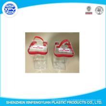 2015 Китай Мануфактура прозрачный ПВХ Собака Упаковка продовольственная сумка с молнией