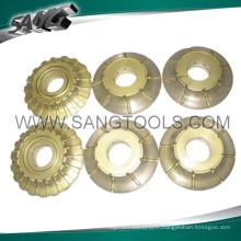 Roues de profil pour granit (SG-095)