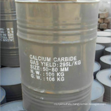 Factory Supply Calcium Carbide 50-80mm Competitive Price