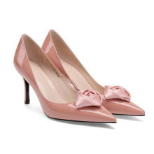 2020 Genuine leather pumps shoes custom women pumps  ladies shoes  high heels shoes with  thin heels for women