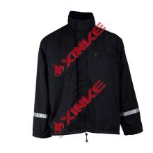 Camisa anti-fuego NFPA2112 aramid NFPA2112 aramid anti-fire shirt 1. Parámetros técnicos de la técnica de la camiseta anti-fuego de aramida:
