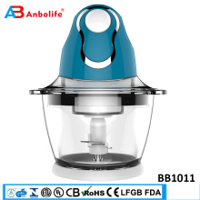 Anbolife professional high speed industrial quick electric mini kitchen food chopper machine automatic onion vegetable chopper