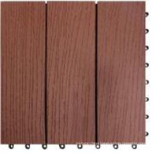 Interlocking Deck Tile / Wood Plastic Composite