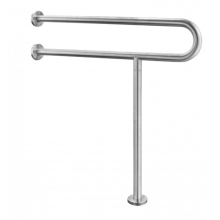 Barrier-free handrails for toilets