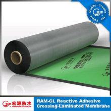 1.5 mm Thickness High Tensile HDPE Film Self-Adhesive Waterproof Membrane for Roof /Basement /Garage /Underground /Underlay Felt (ISO)