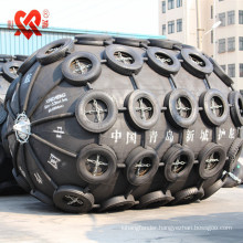 Foam Filled Marine Fenders with Chain and Tire Nets
