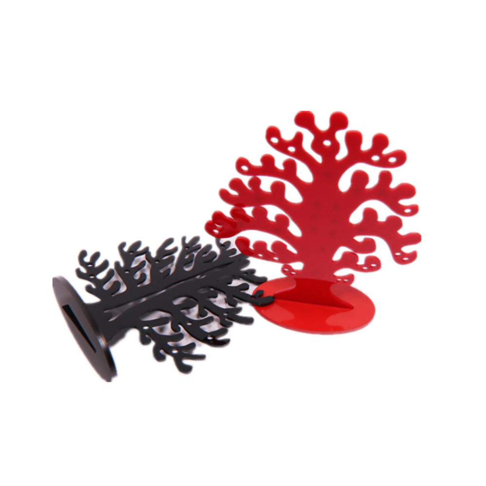 Custmized Laser Cut Plastic Christmas Trees