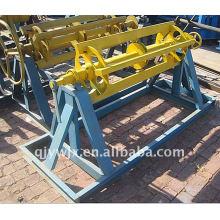 para a frente máquina manual do uncoiler de 6 toneladas PPGI / SOLDADO