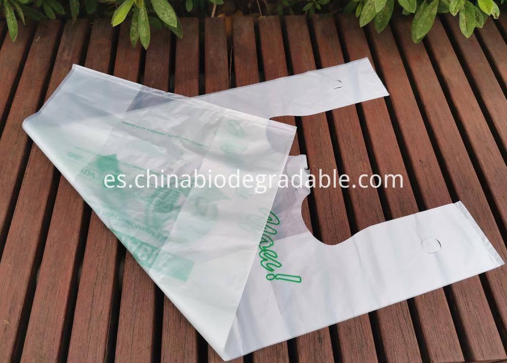 Compostable Waterproof Shopping Bag