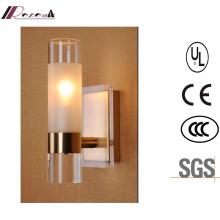 Single Bathroom 40W Wall Lamp Polished Brass Wall Lamp