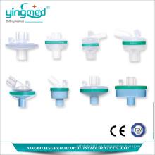 Filtro desechable médico de bacterias Filtro HME