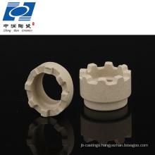 Cordierite ceramic ferrule for stud welding