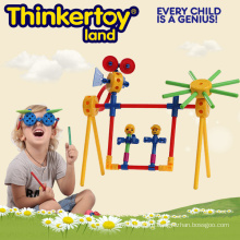 Kit образования Пластиковые головоломки сада Свинг игрушки