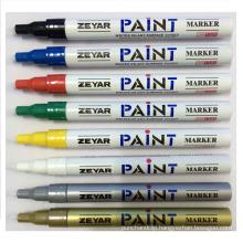 Thin Aluminum Barrel Permanent Marker with 1.0 mm Tip