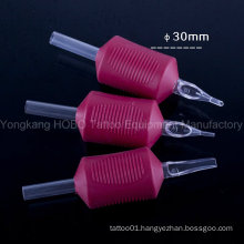 Wholesale 1.25′′ (30mm) Combo Style Tattoo Silicone Rubber Grip with Needle
