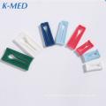 iv infusion set plastic bag closure hanging clip