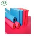 farbige Gummischaumrohre Isolierung für Klimaanlage
