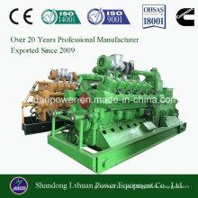 Gasificación de biomasa Generador de energía de gas conjunto Genset 600kw
