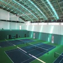Высокое качество ПВХ спорта настил Inroll для тенниса крытый в рулоне