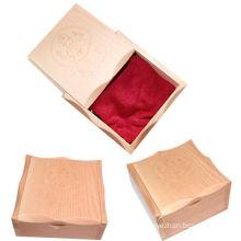 Wooden tattoo machine box for tattoo kits