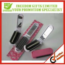 Plastic Printed Custom Hair Brush Comb Mirror Set