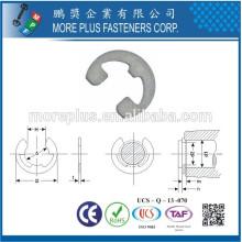 Hecho en Taiwán Externa Snap Inox 302 DIN6799 Circlips