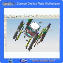 injeção plástica molde 3d design agent(OEM)