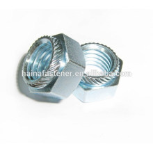 zinc plated steel Self-Clinching floating Nuts
