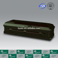 Porta-LUXES americano melhor vender esculpida barato caixão aberto