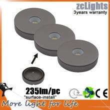 CE et RoHS IP44 Cabinet LED Light 3W DC12V Cabinet de cuisine LED Light