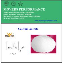 Acétate de calcium minéral de gril de nourriture de vente chaude