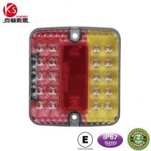 Ks001b-marca parada/cola/parte trasera/placa E impermeable LED luz carro