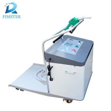 engine oil filling machine with single nozzle pipe equipment for lubricating grease