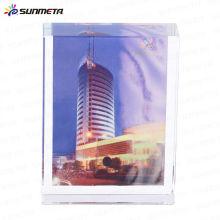 Cadre de photo en cristal sublimation BSJ-01