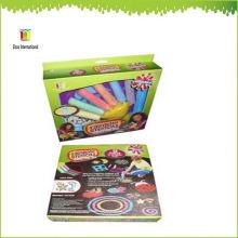 niños acera de plástico de color jumbo powder holder