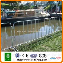 barrière de clôture temporaire de piscine