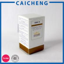 Boîte de parfum en carton de marque maison avec insert en mousse eva